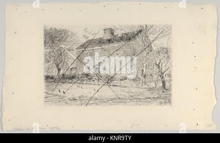 The Home Sweet Home Cottage, No. 2. Artist: Childe Hassam (American, Dorchester, Massachusetts 1859-1935 East Hampton, - Stock Photo