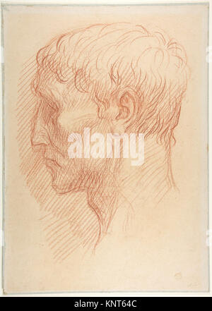 Head of a Quarryman MET DP811609 337619 - Stock Photo