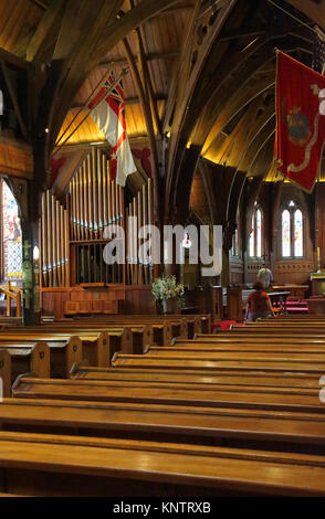 old st pauls cathedral in wellington on the north island of new zealand - Stock Photo