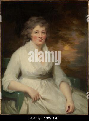 Janet Law. Artist: Sir Henry Raeburn (British, Stockbridge, Scotland 1756-1823 Edinburgh, Scotland); Medium: Oil - Stock Photo