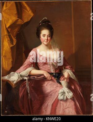 Portrait of a Woman. Artist: Joseph Wright (Wright of Derby) (British, Derby 1734-1797 Derby); Date: ca. 1770; Medium: - Stock Photo