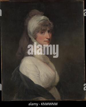 Mrs. Thomas Pechell (Charlotte Clavering, died 1841). Artist: John Hoppner (British, London 1758-1810 London); Date: - Stock Photo