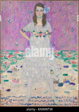 Mäda Primavesi (1903-2000). Artist: Gustav Klimt (Austrian, Baumgarten 1862-1918 Vienna); Date: 1912-13; Medium: - Stock Photo