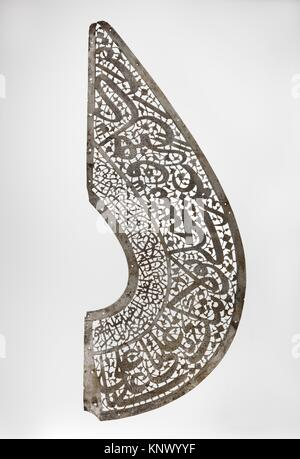 Fragment of a Standard (´alam). Object Name: Standard; Date: 17th century; Geography: Attributed to Iran; Medium: - Stock Photo