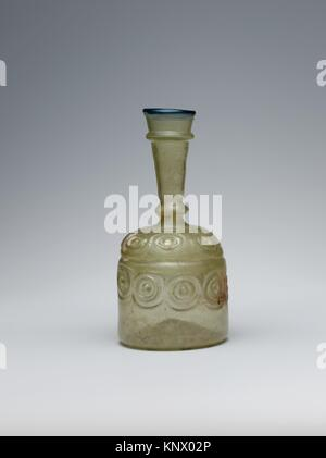 Bottle with Impressed Decorations. Object Name: Bottle; Date: 10th-11th century; Geography: Attributed to probably - Stock Photo