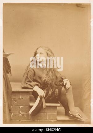 Le montagnard. Artist: Pierre-Louis Pierson (French, 1822-1913); Date: 1860s; Medium: Albumen silver print from - Stock Photo
