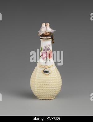 Flagon. Factory: Chelsea Porcelain Manufactory (British, 1745-1784); Date: ca. 1755; Culture: British, Chelsea; - Stock Photo