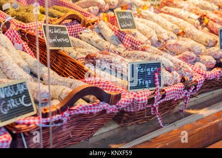 Tradiotional german sausages - Stock Photo