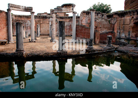 Hadrian's Villa was constructed in the 2nd Century AD as a retreat for the Roman emperor Hadrian - Stock Photo