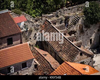 Split Croatia Bell Tower View.