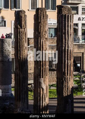 Area Sacra di Largo Argentina, Rome, Italy - Stock Photo