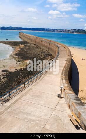 Saint Malo, Ille-et-Vilaine, Bretagne, Brittany, France. - Stock Photo