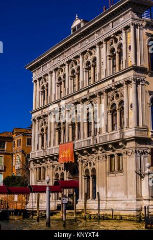 Venice Casino, Grand Canal, Venice, Italy. - Stock Photo