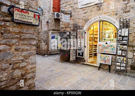 Old Town ''Stari Grad'' of Budva, Montenegro - Stock Photo