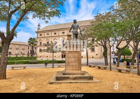 Palacio de las Cadenas, Town Hall, Vazquez de Molina Square, Úbeda. UNESCO World Heritage Site, Jaén province. Spain. - Stock Photo