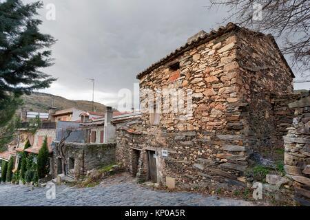 Patones de Arriba. Madrid. Spain. Europe. - Stock Photo