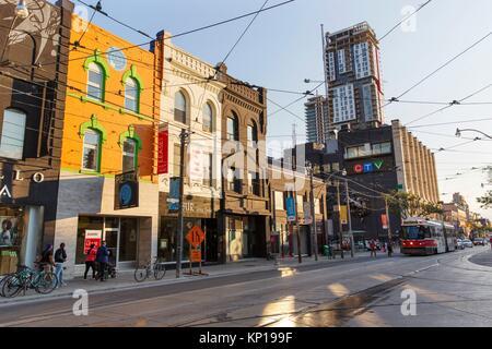 CTV building Queen's street west. - Stock Photo