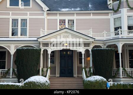 Marshall House, Fort Vancouver National Historic Site, Vancouver National Historic Reserve, Washington. - Stock Photo