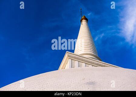 Pinnacle of Maha Seya Stupa, Mihintale Monastery, Anuradhapura District, North Central Province, Sri Lanka, Asia. - Stock Photo