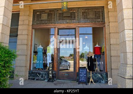 Ella+Scott fashion shop in the Milfred Building, Beaumont, Texas, United States of America, North America - Stock Photo