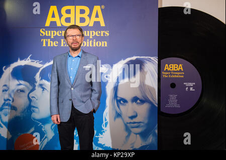 Bjorn Ulvaeus at the launch of the 'Abba: Super Troupers' exhibition, at the Royal Festival Hall, London, which - Stock Photo