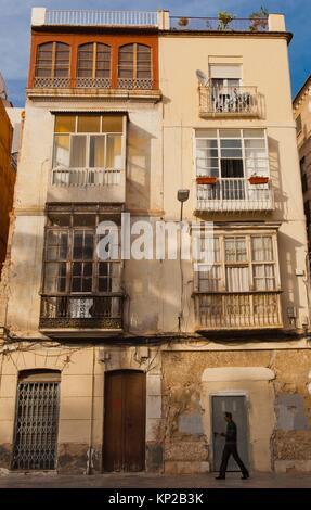 Plaza San Francisco (San Francisco), Cartagena City, Murcia Region, Spain, Europe. - Stock Photo