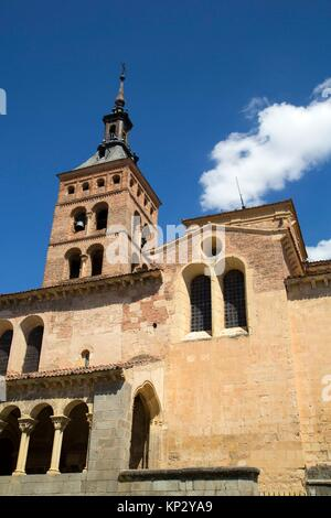 San Martin Church, Segovia, UNESCO World Heritage Site, Spain - Stock Photo