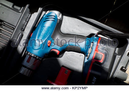 Europe, Greece, Rhodes Island, View Of Rechargeable Electric Drill - Stock Photo