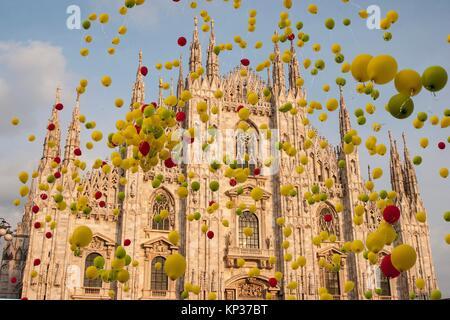Duomo, Milan, Lombardy, Italy. - Stock Photo