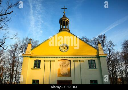 Wooden Cross Open Air Museum Radom Poland Stock Photo