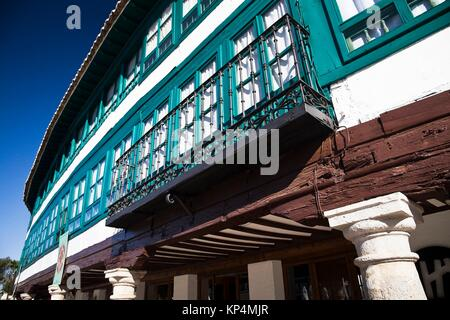 Plaza Mayor - Almagro - Ciudad Real - Castilla La Mancha - España - Europa. - Stock Photo