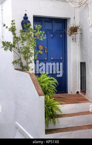 neck home entrance - Stock Photo