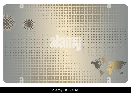 Halftone world map stock vector art illustration vector image abstract background with halftone pattern and world map stock photo gumiabroncs Gallery