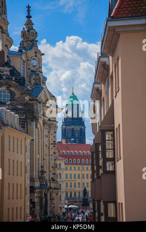 beautiful elegant Dresden, Germany - Stock Photo
