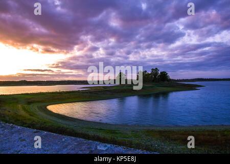 wonderful sunset - Stock Photo