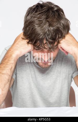 Mid-adult man - Stock Photo