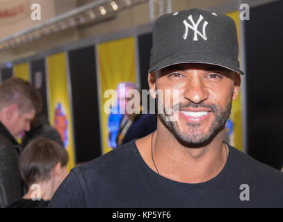 Dortmund, Germany - December 9th 2017: British Actor Ricky Whittle (* 1981, Shadow Moon in American Gods, Calvin - Stock Photo
