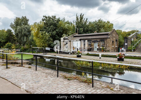 St Pancras Lock on Regent's Canal, London, UK, 2015 - Stock Photo
