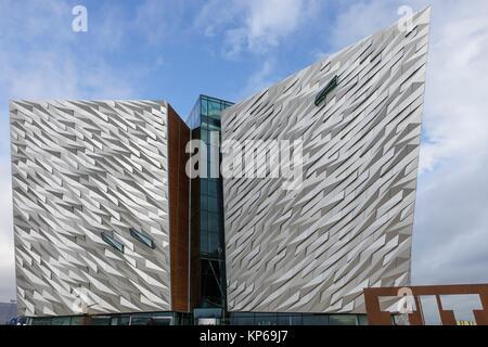 Titanic Museum, Belfast, Ireland, Europe - Stock Photo