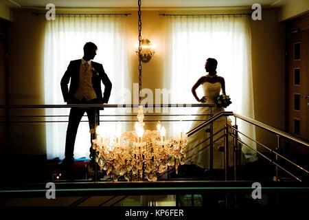 Brautpaar - marriage couple - Stock Photo