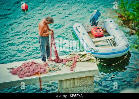 Beli auf Cres in Kroatien - Beli, Cres, Croatia - Stock Photo