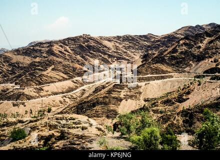 Khyber Pass, Pakistan. - Stock Photo