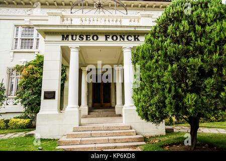 Museo Fonck, Museum of Archaeology and History, Viña del Mar, Valparaiso Region, Chile, South America. Stock Photo