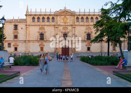 Universidad de Alcalá de Henares. Madrid. Spain. - Stock Photo