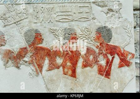 Egyptian art. Neues Museum. Berlin, Germany - Stock Photo