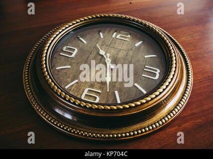 Watches wall retro vintage - Stock Photo