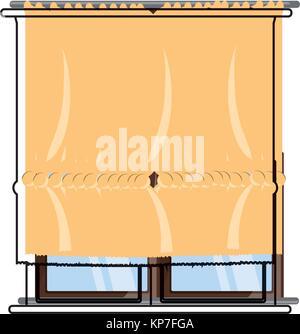 house windows design  - Stock Photo
