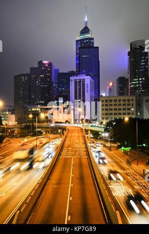 Causeway Bay, Hong Kong Island, Hong Kong, China, East Asia - Stock Photo