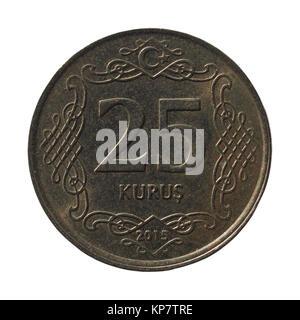 Turkish coin - Stock Photo