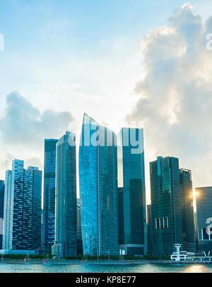 Singapore Downtown Core - Stock Photo